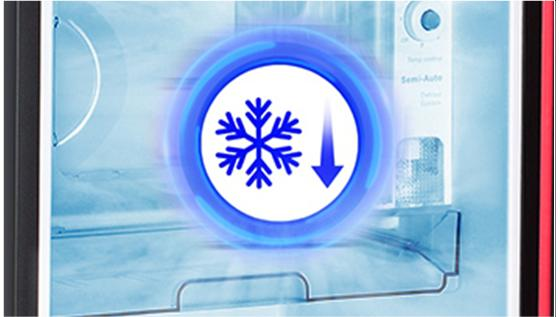 Faster Freezer Zone