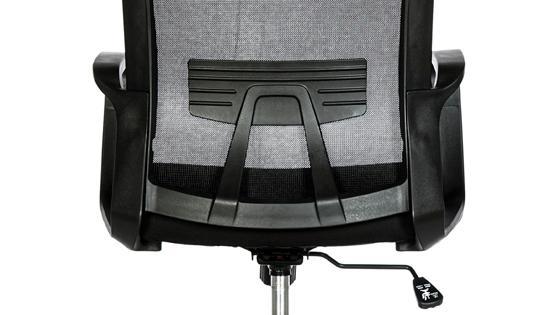 silla con apoyo lumbar