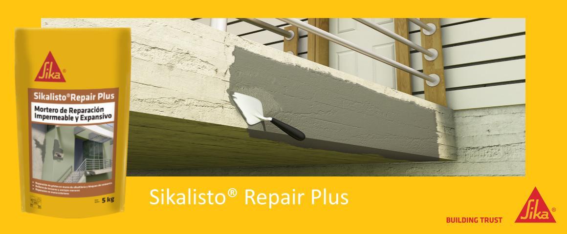 mortero impermeable reparacion