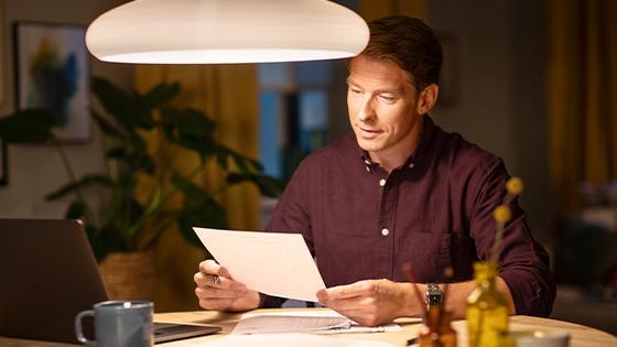 EyeComfort iluminación ideal para trabajar