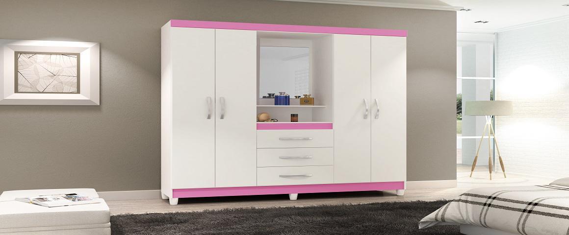 Closet Rosa 4P 3C