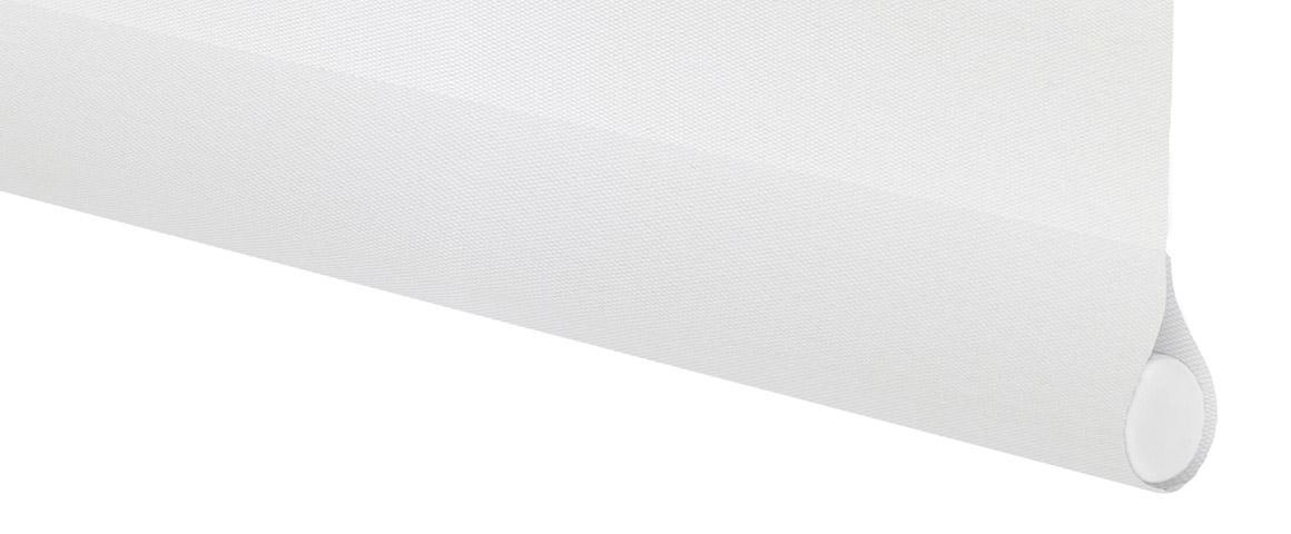 Contrapeso roller black-out blanco