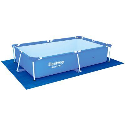Cubrepiso de piscina rectagular 2.9x2.11m