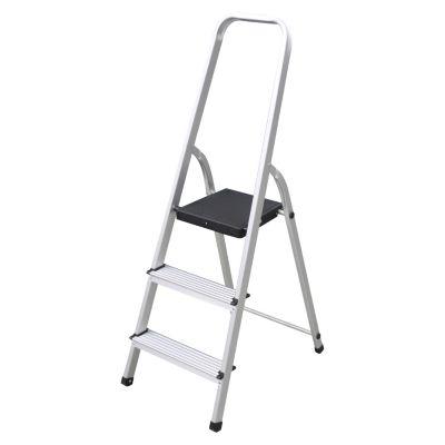 Escalera Tijera Aluminio 3 Pasos