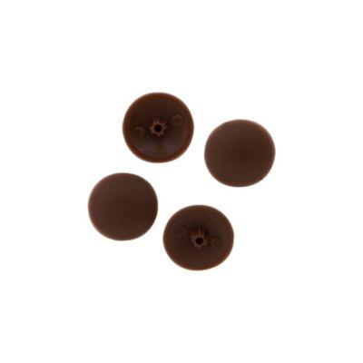 Tapa para tornillo marrón