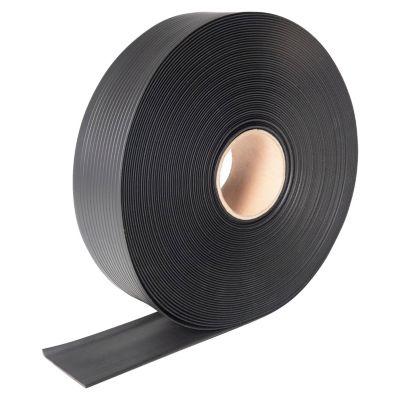 Zócalo vinílico negro 120x7.62 cm