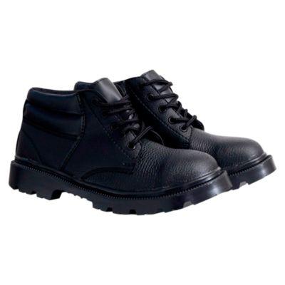 Zapatos de Seguridad de Cuero Económica T43