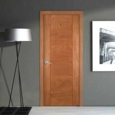 Puerta Lara Enchapada 75 x 207