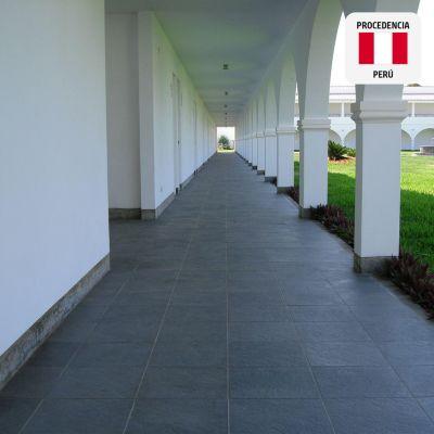 Piedra Torreón Negro 33x33cm 0,22m2