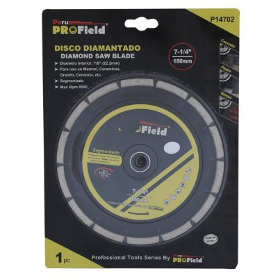 "Disco Diamantado 7-1/4"""