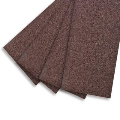 Piso antideslizante marrón 122 cm