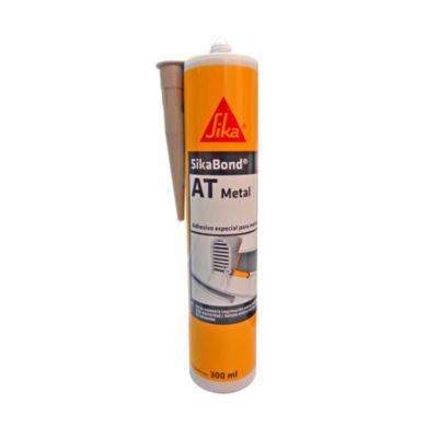 Adhesivo y Sellante Sikabond Metal 300 ml gris