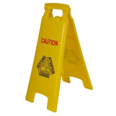 Cartel de advertencia 65cm