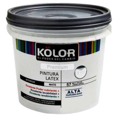 Látex Premium Blanco Perla Mate 4L