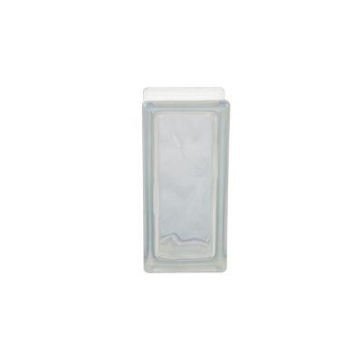 Medio Block de Vidrio Olas 19 x 9 cm