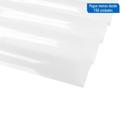 Techo Onda 177 Blanco 3.05 x 1.1 m x 1 mm