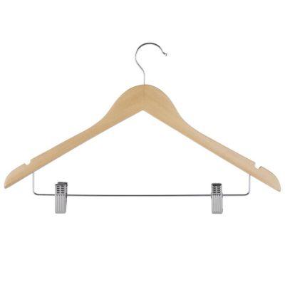 Colgador para falda de madera natural