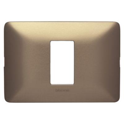 Placa Simple Matix Titanio