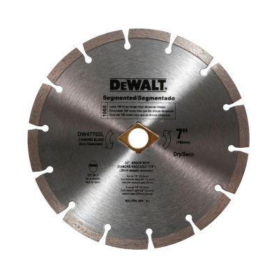"Disco diamantado 7"" segmentado"
