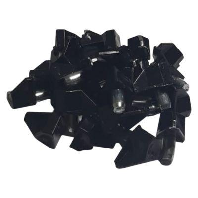 Pack x25 Soporte Metal/Plástico Negro