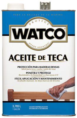 Aceite de Teca Watco 3,785 L