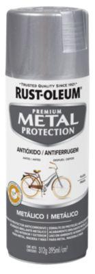 Aerosol  protector de superfices metalicas, Metal Protection Metálico Plata 312 Gr