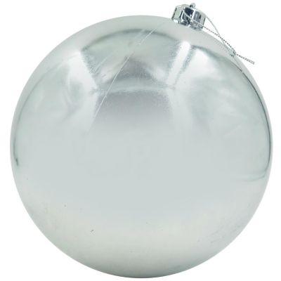 Esfera de plata brillante 20cm
