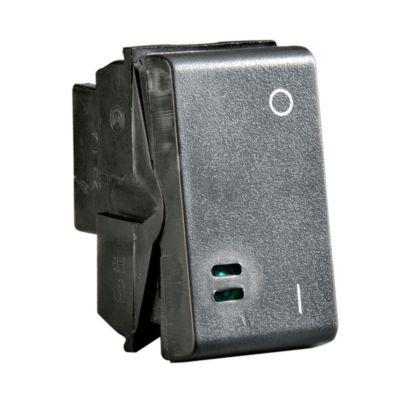 Interruptor 4 vias 1m noir
