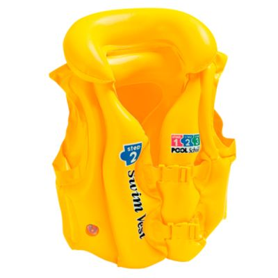 Chaleco Flotador Inflable Step 2 Amarillo