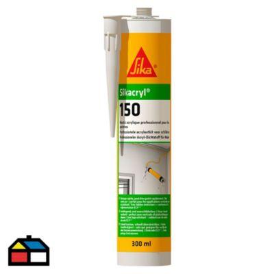 Masilla acrílica Sikacryl150 300 ml blanca