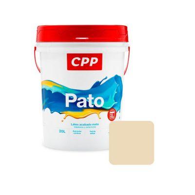 Látex Pato Blanco Humo Mate 20 L