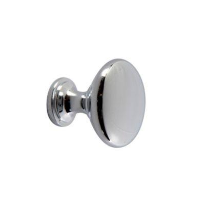 Perilla Botón Cromado 30 mm