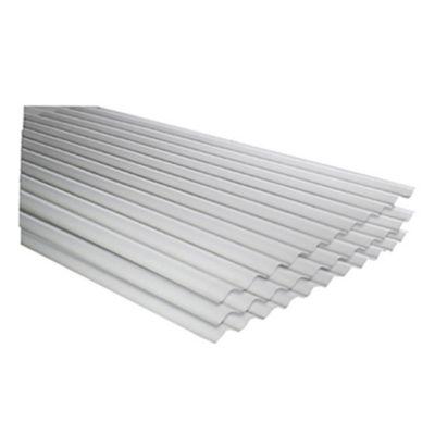 Techo de Polipropileno Techoplus Blanco 0.83 x 1.83 m