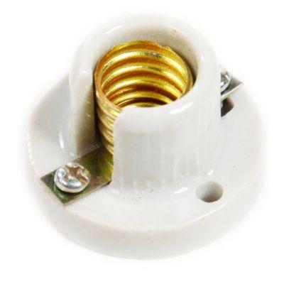 Socket de loza adosable E14