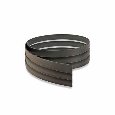 Tapacanto Negro 22X3mm (metro lineal)