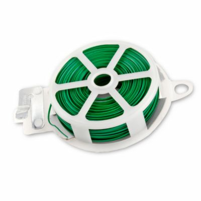 Cable amarra plantas verde