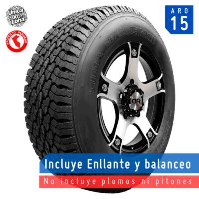Llanta 215/75R15 Sport A/T 100porciento Lona