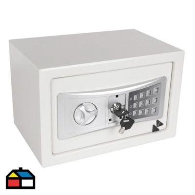 Caja Fuerte Digital Blanco 31x20x20cm 8.5 L
