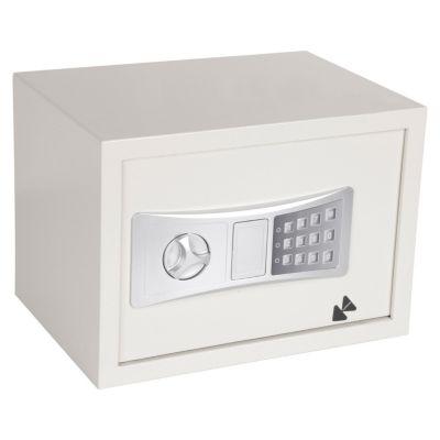 Caja Fuerte Electrónica Blanco 35x25x25cm 16.3 L