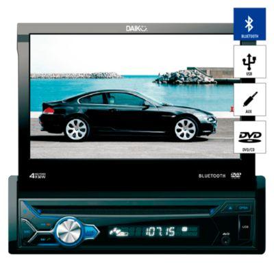 "Autoradio Pantalla Tactil 7"" Bluetooth/CD/DVD/USB/AUX DVD-9888BT"