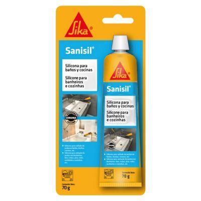 Silicona Antihongos para Baños y Cocinas Sanisil transp 70gr