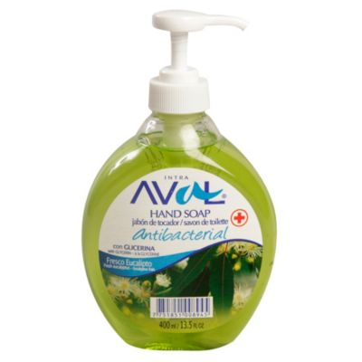 Jabón líquido antibacterial 400 ml