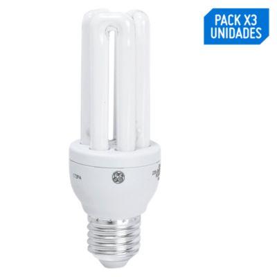 Foco ahorrador mini U3 15w luz blanca