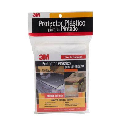 Protector de plástico para pintado 5x5 metros
