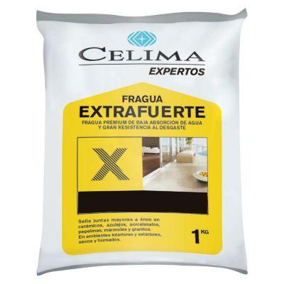 Fragua Premium para Porcelanatos Negro 1kg