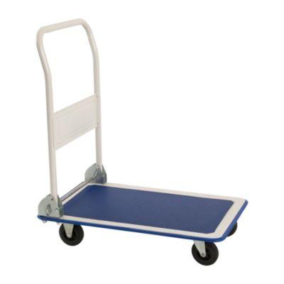 Carreta de carga plataforma plegable 150kg
