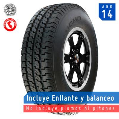 Llanta 205/80R14 Super Combi 100% Lona