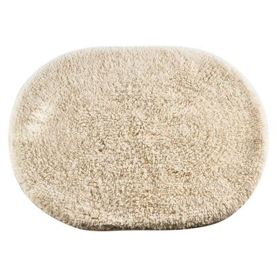 Alfombra Oval 45x60 cm crudo