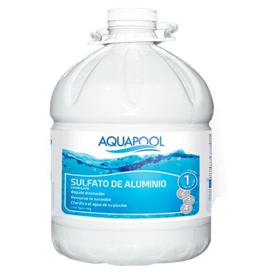 Sulfato de Aluminio Granulado 4kg