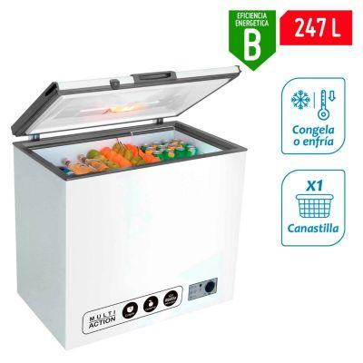 Congeladora 256L CH10